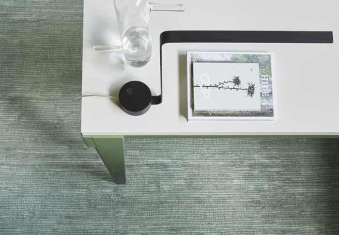 Desso &Ex carpet in green