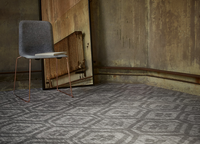 Desso &Ex carpet in stone grey