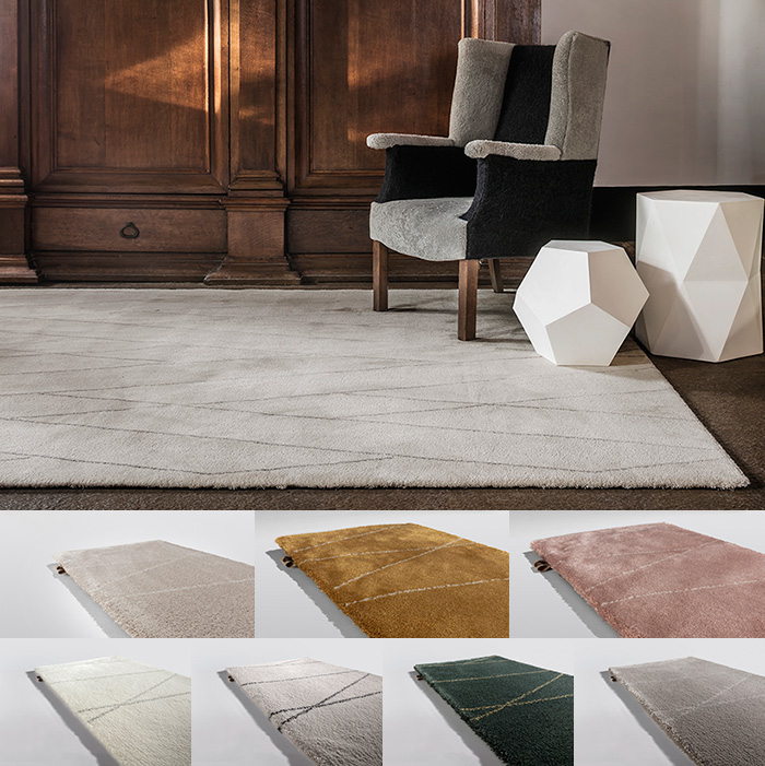 Samba Synergy: angora white, honey beige, rose beige, white grey, silver charcoal, forest gold & taupe beige